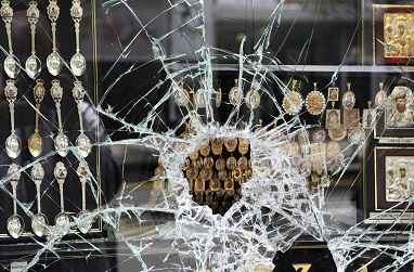 Jewellery shop robberies: significant decrease in 5 years time