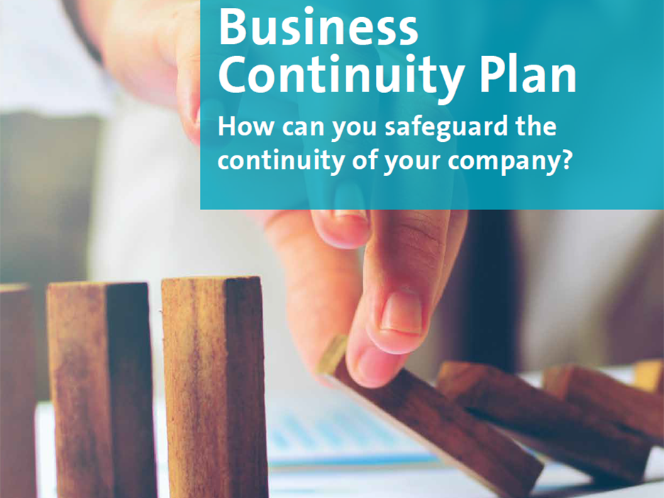 A Business Continuity Plan helps you safeguard the continuity of your company