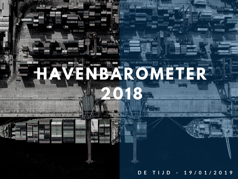 Havenbarometer 2018: evolutie arbeidsongevallen in haven